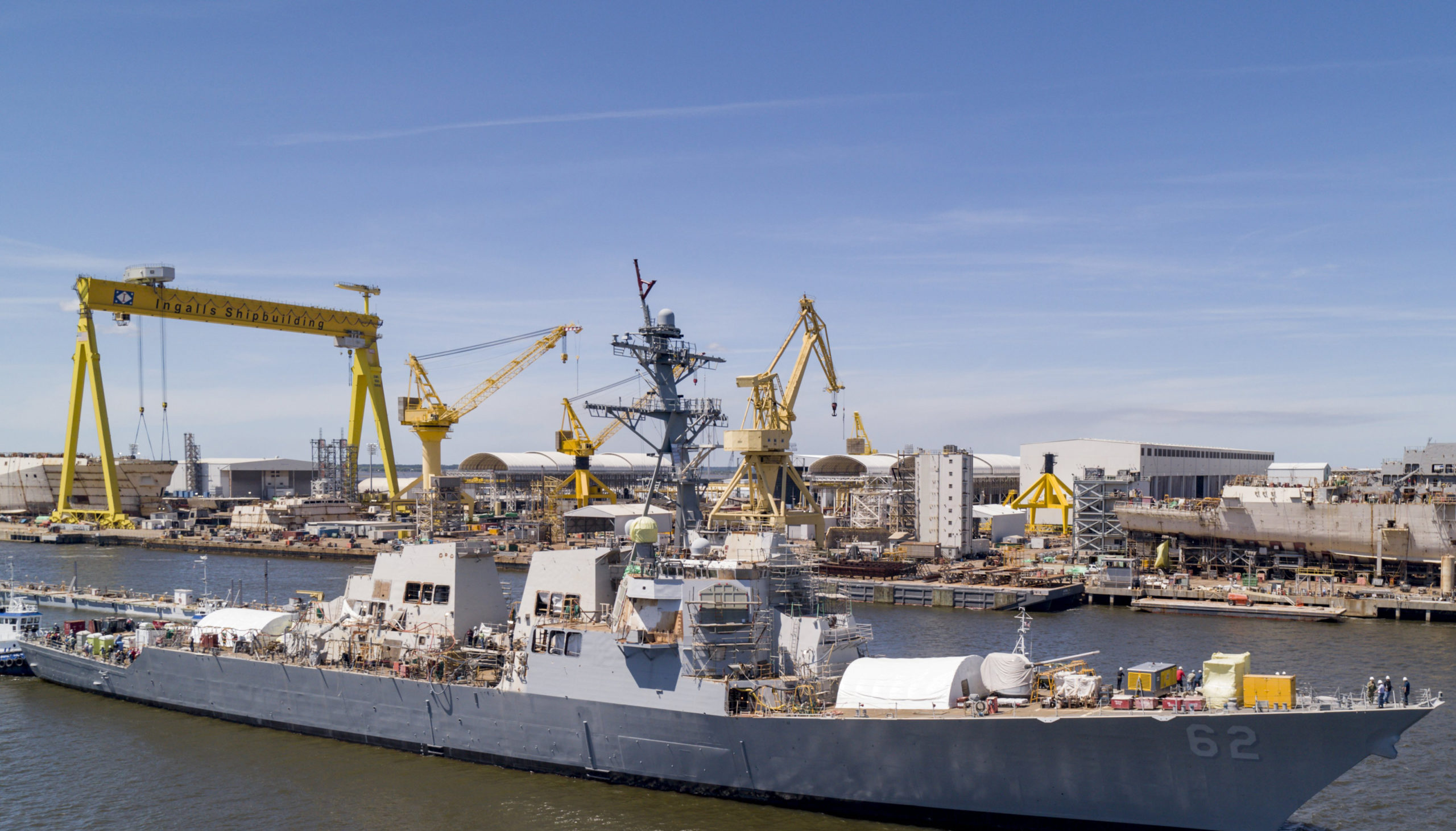 Lack of U.S. Warship Repair Capacity Worrying Navy