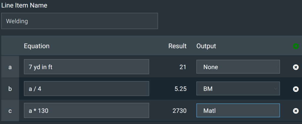 New Oxalis Estimation Calculator View