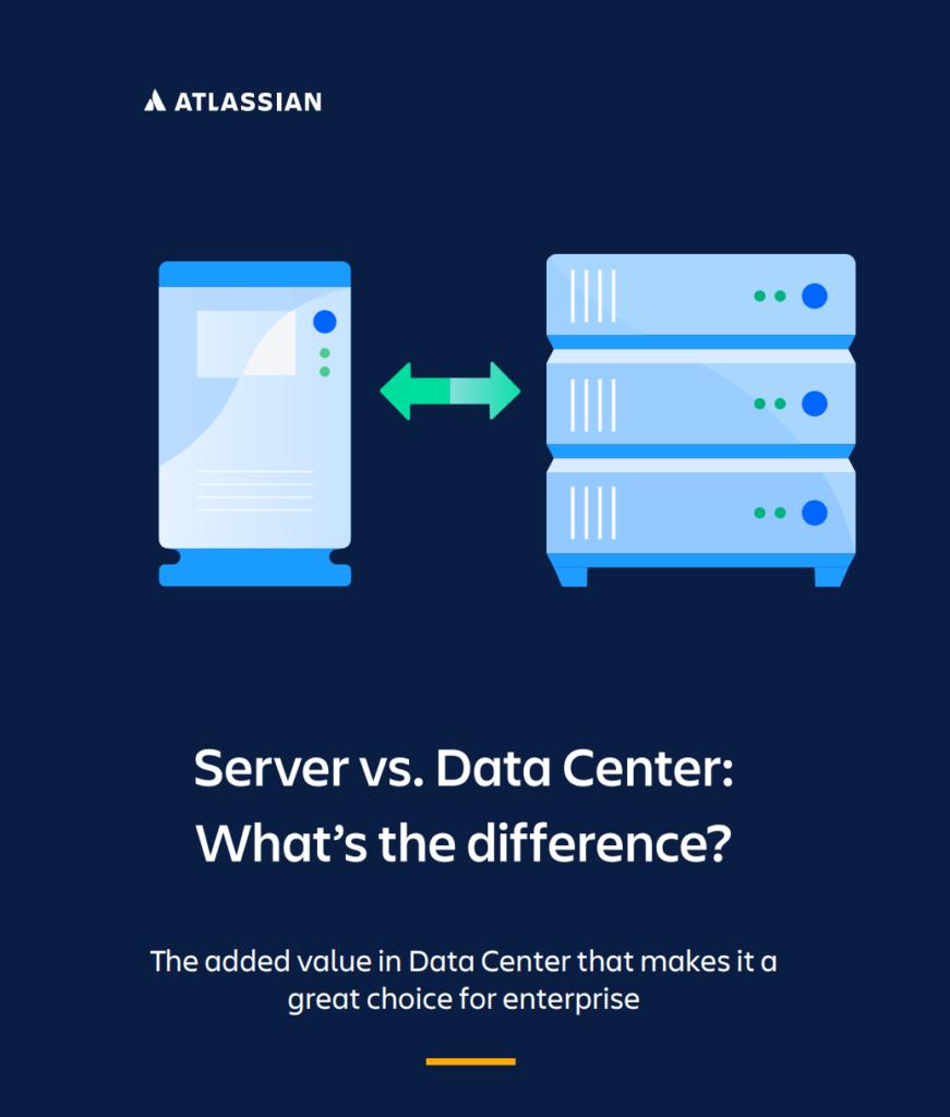 server vs. data center